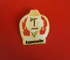 "PIN'S "" POMPIERS ""  Sapeurs Pompiers APPENWIHR  ( Haut-Rhin)   TRES JOLI - Pompiers"
