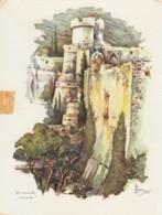 Dubrovnik - Fort MInceta Artist Vladimir Kirin - Kroatien