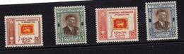 Ceylon, 1949, SG 406 - 409, Complete Set Of 4, MNH - Sri Lanka (Ceylon) (1948-...)