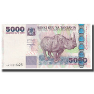 Billet, Tanzania, 5000 Shilingi, KM:38, NEUF - Tanzanie