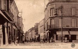 TONNEINS LE COURS DE LA MARNE - Tonneins