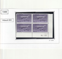 France Coin Daté - N° 59b Impression Fine - Aéreo