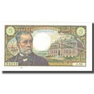 France, 5 Francs, Pasteur, 1967, 1967-05-05, SPL, Fayette:61.05, KM:146b - 1962-1997 ''Francs''