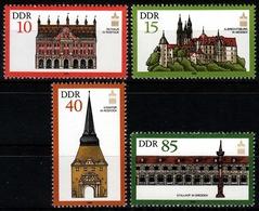 DDR MiNr. 2869/72 ** Generalversammlung Der Intern. Gesellschaft F Denkmalpflege - Unused Stamps