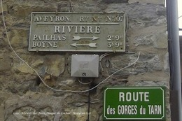 Rivière-sur-Tarn (12)- Plaque De Cocher (Edition à Tirage Limité) - France