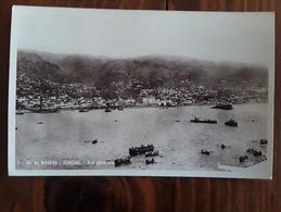 MADEIRA / MADERE, FUNCHAL, Portugal,  Vue Générale,  Le Port, Bateaux ,années 40, TB Peu Courante - Madeira