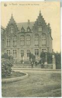 Le Rœulx 1920; Maisons De MM Les Vicaires - Voyagé.(Jean Boucq - Le Rœulx) - Le Roeulx