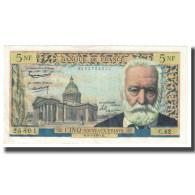 France, 5 Nouveaux Francs, 1960, 1960-02-04, SPL, Fayette:56.5, KM:141a - 5 NF 1959-1965 ''Victor Hugo''