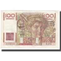 France, 100 Francs, 1951, 1951-11-02, SPL, KM:128d - 1871-1952 Antichi Franchi Circolanti Nel XX Secolo