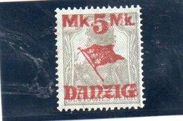 DANTZIG 1920 * BURELAGE GRIS RENVERSE' - Danzig