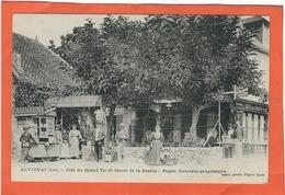Lot, Alvignac : Café Du Grand Tir Et Cercle De La Source, Top Carte Animée - France