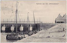 Postkaart Katwijk Aan Zee Buitensluizen/Hafen 1910  - Non Classés
