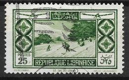GRAND LIBAN : RARE POSTE AERIENNE N° 56 OBLITERATION TRES LEGERE - COTE 130 € - Gross-Libanon (1924-1945)