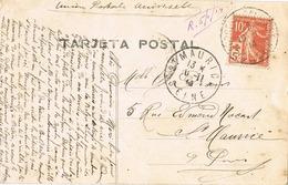 33741. Postal Romatica, Vintage ARDRES De CALAIS (Pas De Calais) 1914. Mujer Y Flores - Francia