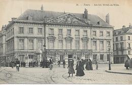 37, Indre Et Loire, TOURS, Ancien Hotel De Ville, Scan Recto-Verso - Tours