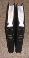 Bund Leuchtturm SF Bzw. Krüger SF Vordruckblätter 1949 - 1994 Komplett In 2 Klemmbindern  Neupreis über 500,- Euro - Alben & Binder