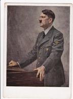 1943 Adolphe HITLER Devant Un Lutrin D' Après Le Tableau De B.  Jacobs - War 1939-45