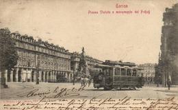 "Turin ""tramway"" ""pionnière 1904"" - Italie"
