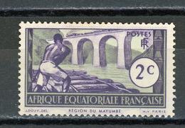 AEF (RF) - DIVERS  N° Yt 34 (*) - A.E.F. (1936-1958)