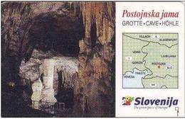 Slovénie, 20 IMPULZ, Grote-Cave-Hohle, Chip, - Slovenië