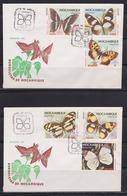 Mozambique 1979 Butterflies, FDC  Michel 731-736 - Mozambique