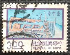 142.CHINA USED STAMP MAPS, CIVILIZATION. - 1949 - ... République Populaire
