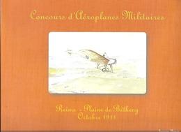 CONCOURS D'AEROPLANES MILITAIRES - REIMS PLAINE DE BETHENY 1911 - Champagne - Ardenne