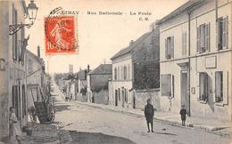 78-LIMAY- RUE NATIONALE LA POSTE - Limay