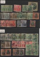 ALL-R1 - Schönes Los Mit über 300 Germania Mit Abarten Neu* Und Verschiedene Stempel Paare Und Viererblock 4 Fotos - Duitsland