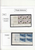 France Coin Daté - N° 38 39 40 41 - Poste Aérienne