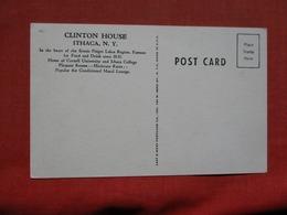 Clinton House  Ithaca  New York  Ref    3585 - NY - New York