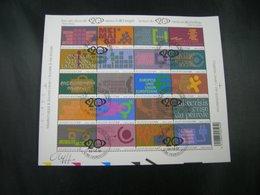 """BELG.2002 BL99 MNH (met/avec Gomme) 1°dag/jour Cachet/stempel & Signé """"Olyff Clotilde"""" Met Handtekening - 2001-10"""