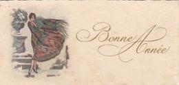 CPA   Mignonnette  BONNE ANNEE  Style Art Déco - Nouvel An