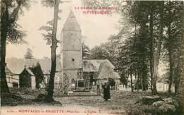 50 ,  MONTAIGU-LA-BRISETTE , L'église , * 417 18 - Francia
