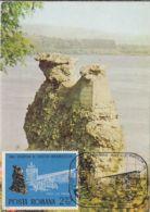 DROBETA TURNU SEVERIN- TRAJAN'S BRIDGE RUINS, CM, MAXICARD, CARTES MAXIMUM, 1982, ROMANIA - Cartoline Maximum
