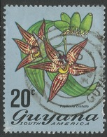 Guyana. 1971 Flowering Plants. 20c Used. SG 549 - Guyana (1966-...)