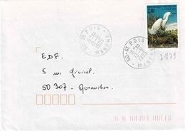 TP N° 2929 Seul Sur Enveloppe De St Pois - Marcophilie (Lettres)