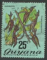 Guyana. 1971 Flowering Plants. 25c Used. SG 550 - Guyana (1966-...)