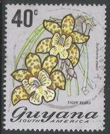 Guyana. 1971 Flowering Plants. 40c Used. SG 551 - Guyana (1966-...)
