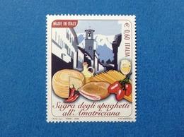2008 ITALIA MADE IN ITALY SAGRA SPAGHETTI ALL'AMATRICIANA FRANCOBOLLO NUOVO STAMP NEW MNH** - 6. 1946-.. Repubblica