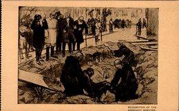LOUIS RAEMAEKERS..( Se Vend Au Profit Des Orphelins De La Guerre)   EXHUMATION....CPA - Autres Illustrateurs