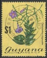 Guyana. 1971 Flowering Plants. $1 Used. SG 554 - Guyana (1966-...)