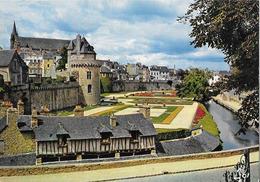VANNES - Les Remparts Et La Tour Du Connétable - Vannes