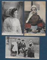 Coutumes Moeurs Et Costumes Bretons - 23 Cartes - Bretagne