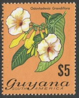Guyana. 1971 Flowering Plants. $5 MNH. SG 556 - Guyana (1966-...)