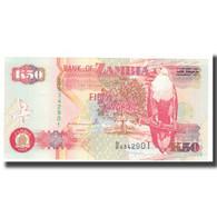Billet, Zambie, 50 Kwacha, KM:37a, NEUF - Zambia