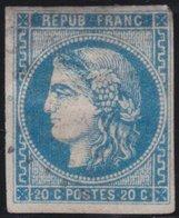 France  .   Yvert   .    45 Ou 46      .       O          .      Oblitéré - 1870 Emissione Di Bordeaux