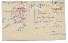 MAROC - 1924 - CARTE FM Du 2° REGIMENT De ZOUAVES à OUDJA => GRENOBLE - Marcophilie (Lettres)
