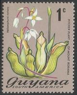 Guyana. 1971 Flowering Plants. 1c MH. SG 542 - Guyana (1966-...)