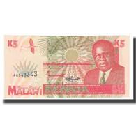 Billet, Malawi, 5 Kwacha, 1998, 1998-06-01, KM:30, NEUF - Malawi
